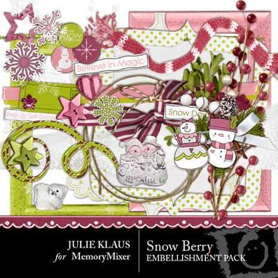 Snow berry elements