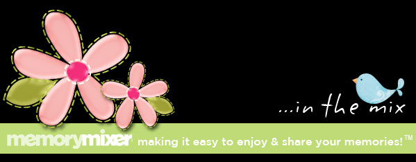 MemoryMixer, making it easy to enjoy and share your memories!