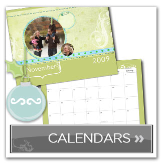 Personalized Calendars created with MemoryMixer