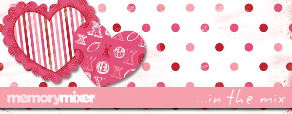 Valentine Header for MemoryMixer Digital Scrapbooking