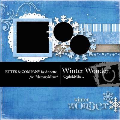Winter Wonder QuickMix for MemoryMixer