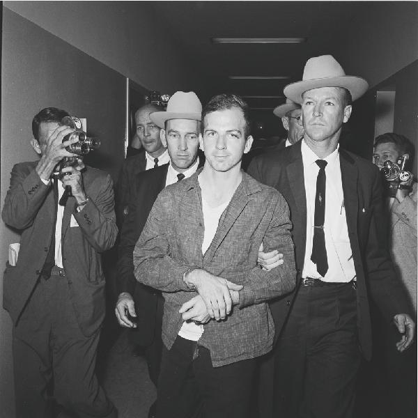 Oswald Escorted By Police, Bill Winfrey Collection, Dallas Morning News/The Sixth  Floor