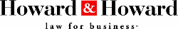 Howard & Howard - Law for Business Logo