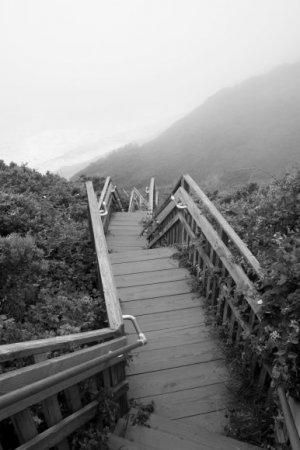 Southeast Light steps