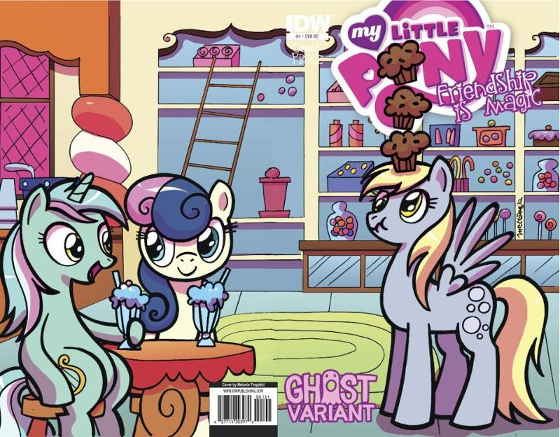 My Little Pony Ghost Variant