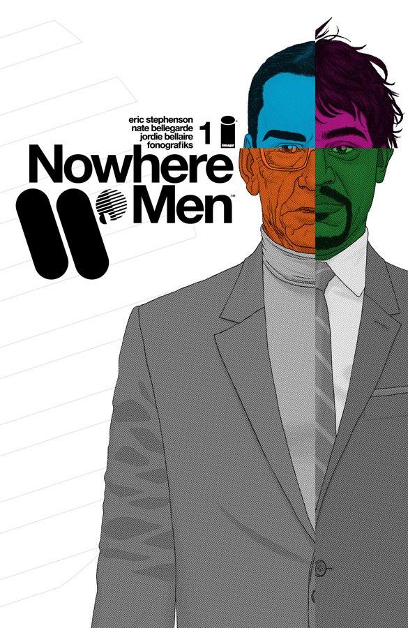 Nowhere Men #1 cover