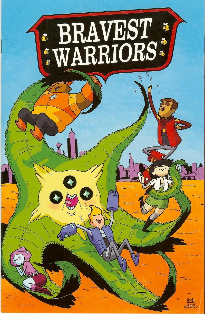 Bravest Warriors #2 variant