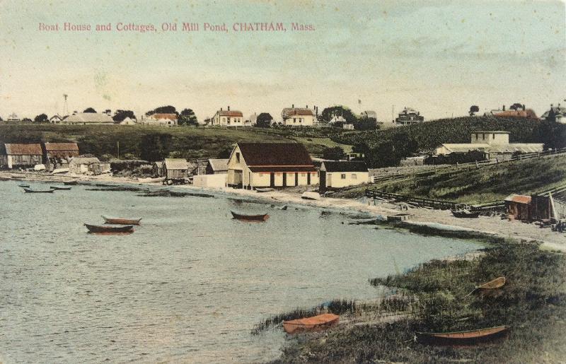 millpond postcard