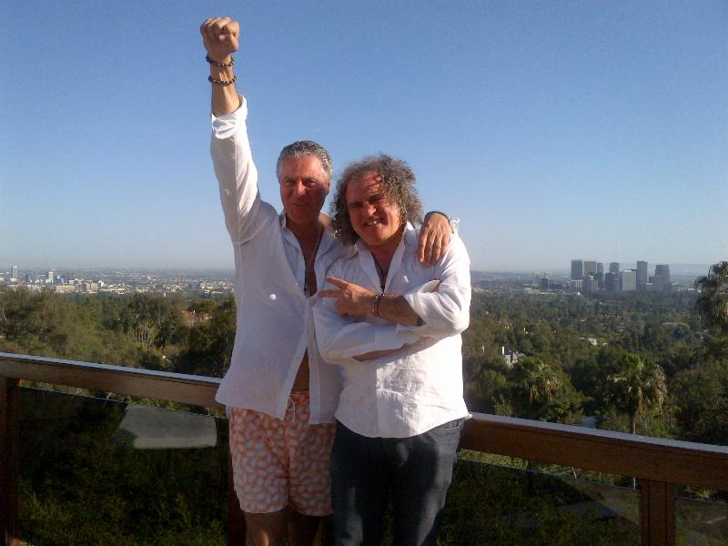 Vittorio and Fabio in Los Angeles