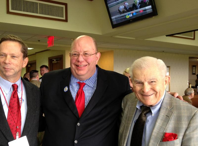Al, Don,  Mark at Keeneland