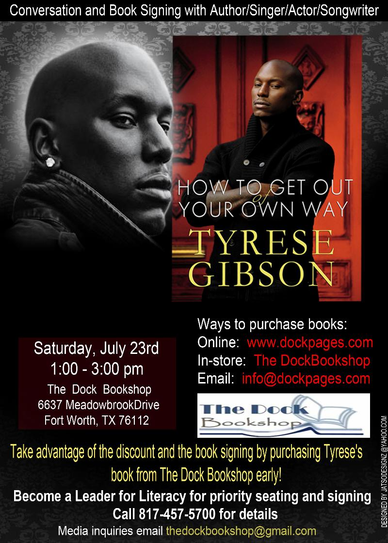 tyrese gibson how to get out of your way pdf