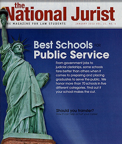 National Jurist Magazine Cover