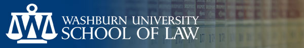 Image: Washburn University School of Law logo