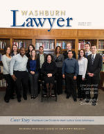 Washburn Lawyer Cover Spring 2011