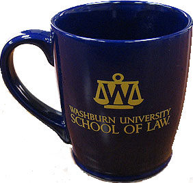 Washburn Law coffee mug