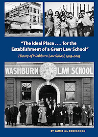History of Washburn Law book cover