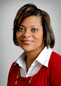 Director of Admissions Yolanda Ingram