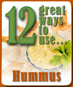 12 great ways to use hummus