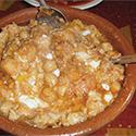 Bowl of lablabi.