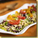 Tomatoe Bulgar Salad