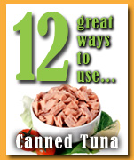 12 ways to use canned tuna