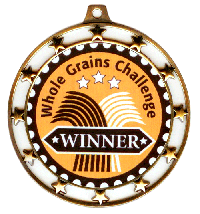 Whole Grains Challenge medal