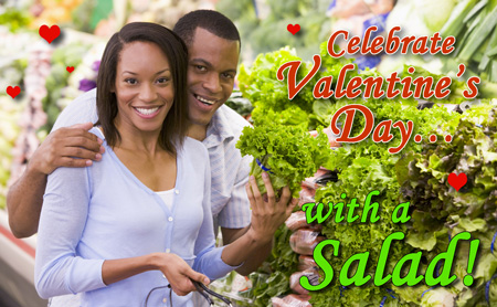 Celebrate Valentine's Day with a salad