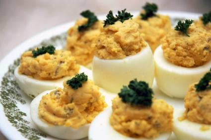 Med Stuffed Eggs