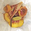 Parchment Baked Fruit