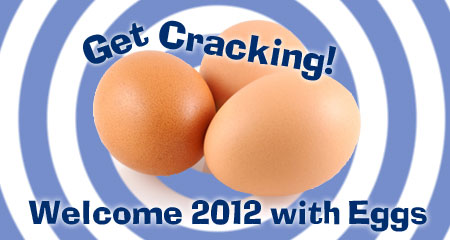 Get cracking with eggs