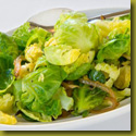 brussel sprouts and onions