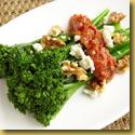 broccolini and walnut