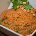 Red Pepper Peanut Dip