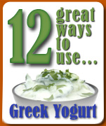 12 great ways to use yogurt
