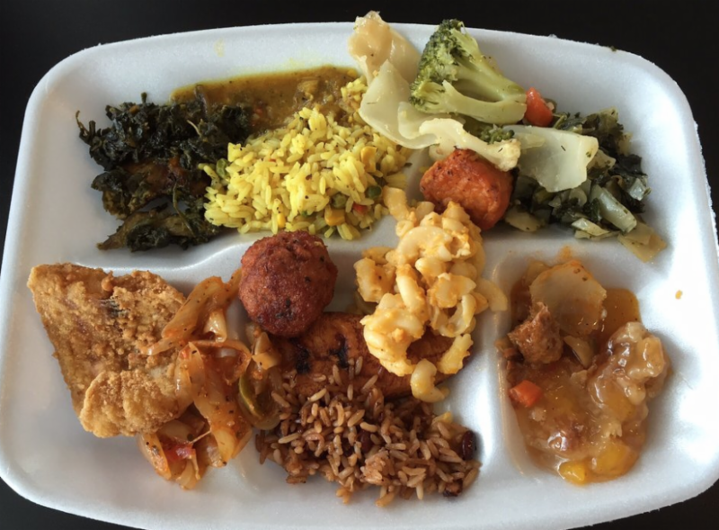 Africanne On Main Lunch Buffet