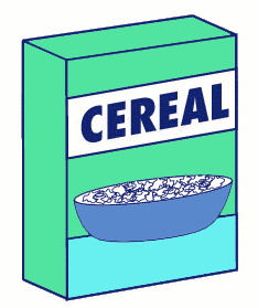 generic cereal box