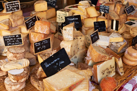 Mediterranean Cheeses