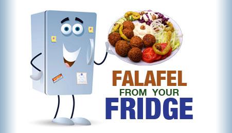Falafel frrom your fridge