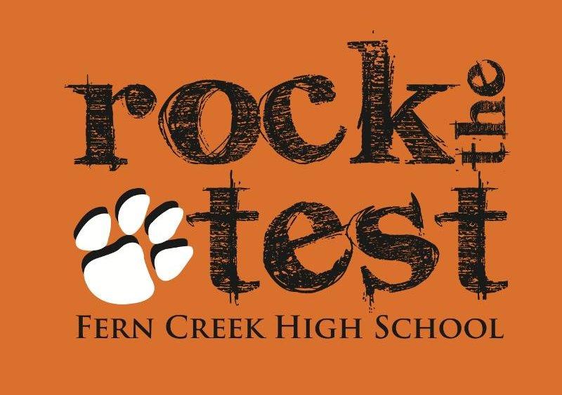 Rock the Test Orange