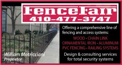 Fence Fair ad