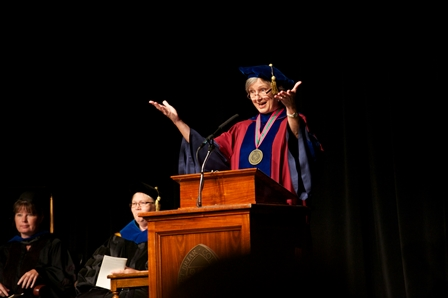 President Parker at Convocation