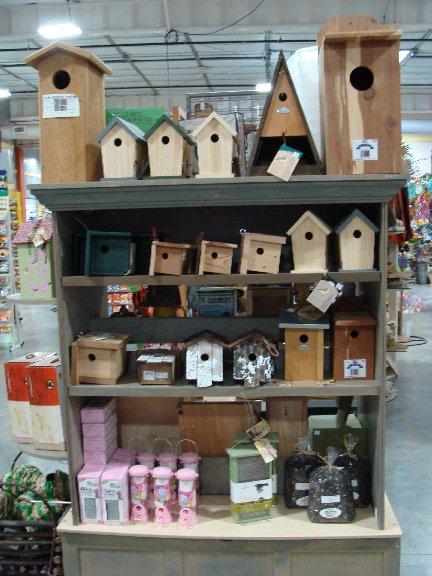 Bird and wildlife items available at Hillermann Nursery and Florist