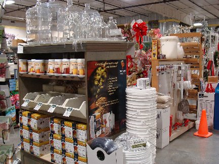 Beer and Wine making items available at Hillermann Nursery and Florist