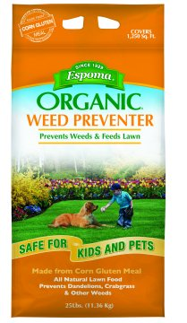 Espoma Organic Weed Preventer available at Hillermann Nursery and Florist