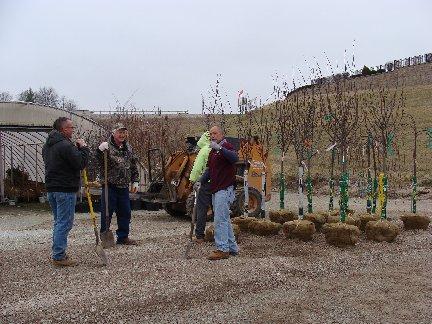 Nursery tree delivery at Hillermann Nursery and Florist