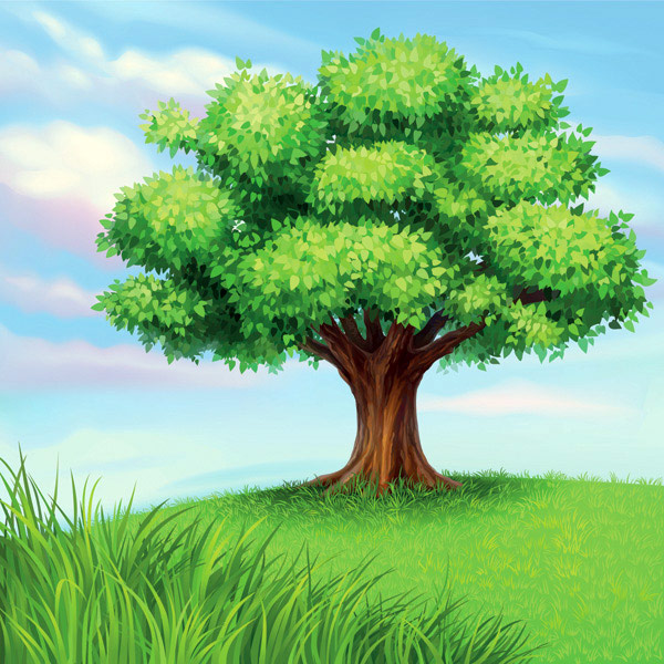 Graphic of a tree
