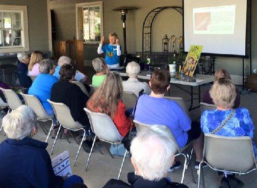 Earth Day Celebration - Monarch Butterfly Presentation by Joyce Oberle at Hillermann Nursery and Florist