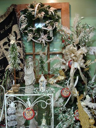 Christmas decorations and novelty items available at Hillermann Nursery and Florist