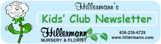 Hillermann Kids Club Heading and store information - Hillermann Nursery and Florist
