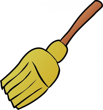 Clip art of a broom